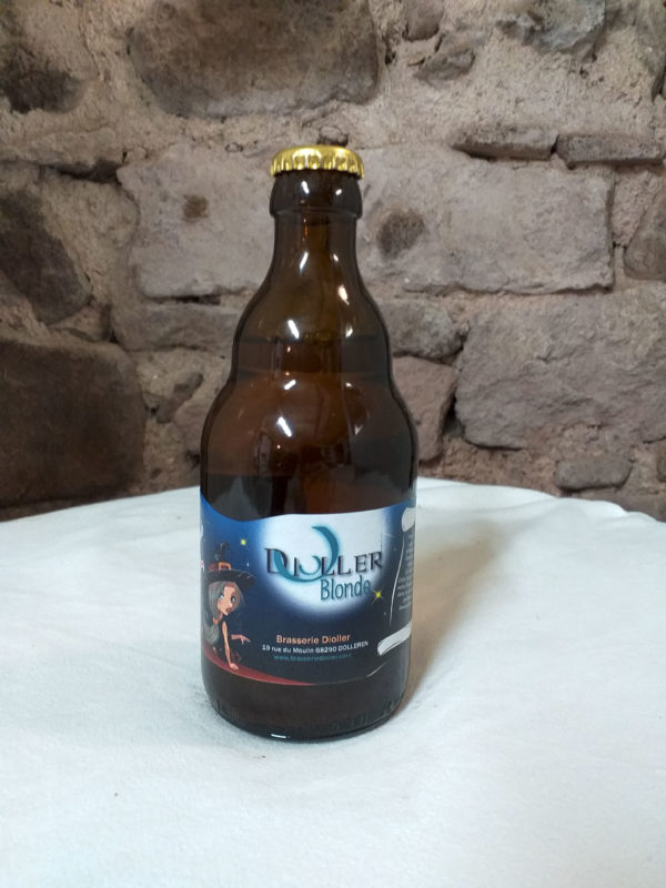 Bière blonde Brasserie Dioller Ferme la Palouse
